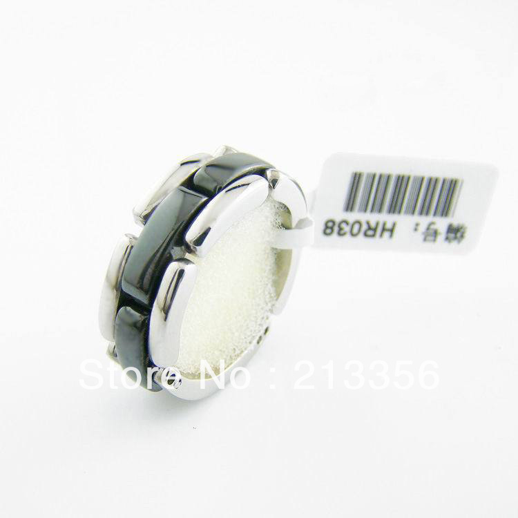 FREE SHIPPING!USA HOT SELLING E&C JEWELRY NEW MENS &WOMEN FASHION CERAMIC WEDDING RINGS HIS OR HER BEST BRIDAL GIFT NICE JEWELRY(China (Mainland))