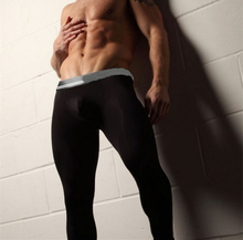 Free Shipping Male Long Johns Men's Modal Longwears Thin Thermal Underwears Men Autumn And Winter Basic Underpants(China (Mainland))