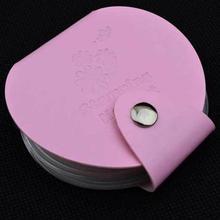 GRACEFUL Stamping Nail Art DIY Image Plate Template Holder 24 Slots Storage Case Bag Stamp Organizer JUN20