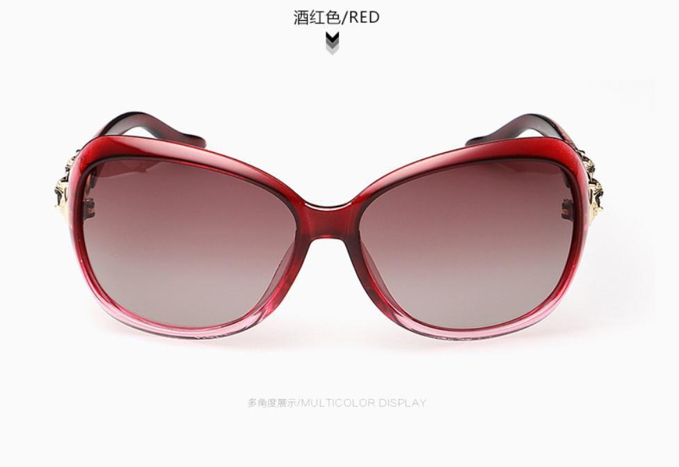2015 Hot Polaroid Sunglasses Women Polarized Driving Sun Glasses Lady Butterfly Designer New Fashion Aoron Female Diamante Fox - HongKong HuaTianTechnology Ltd . store