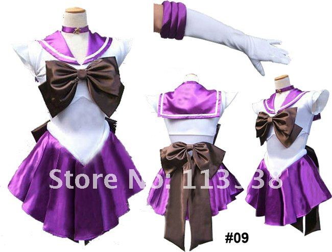 Гаджет  Sailor Moon Saturn Purple Costume Adult COSPLAY School Uniform Ladies #09 freeshipping None Изготовление под заказ