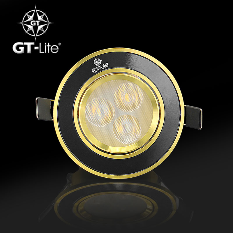 GT-Lite LED Spotlight Epistar LED Recessed Cabinet Wall Spot Down light Ceiling Lamp Cold White Warm White For Home Lighting(China (Mainland))