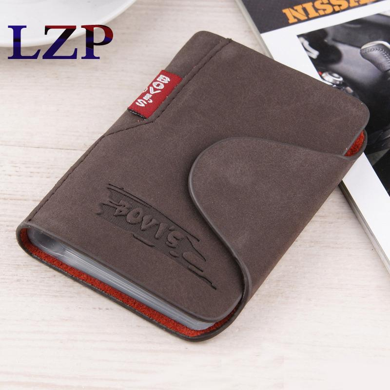 New Fashion Leather Credit Card Holder Business Cards Cover Bags Driver License Passport Card Organizer Bags