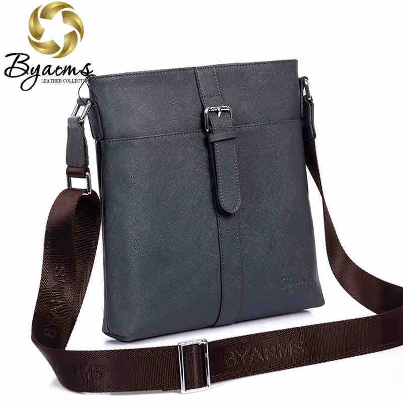 Фотография Hot Sale!! New 2015 Fashion Genuine Leather Men Shoulder Bag, Men Messenger Bag, Business Leisure Bag, Free Shipping #1042