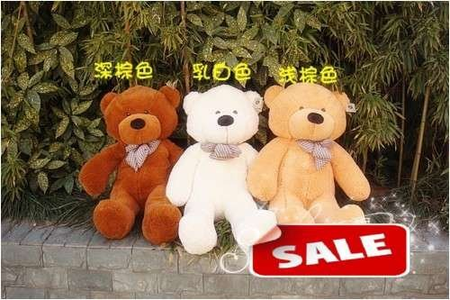 47in/1.20M Teddy Bear, plush toy, stuffed toy, valentine's gifts, FREE SHIPPING