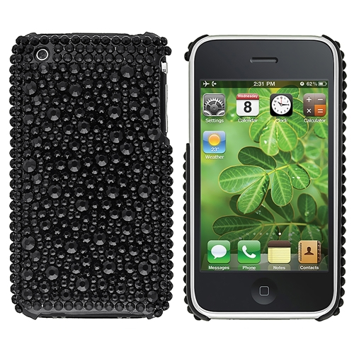 Bling Rhinestone Phone Cover Case for iphone 3G 3GS S(China (Mainland))