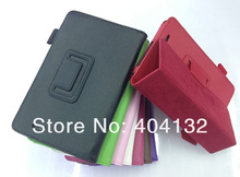 50PCS Multicolor Stand Pen Slot Cover Leather Case For Asus MEMO Pad Case ME172V -By DHL EMS(China (Mainland))
