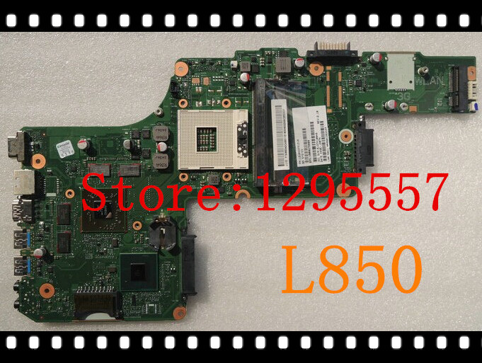 New Arrival V000275060 For Toshiba Satellite L855 Motherboard HM76 non-integrated DK10FG-6050A2491301-MB-A03 100% fully tested(China (Mainland))