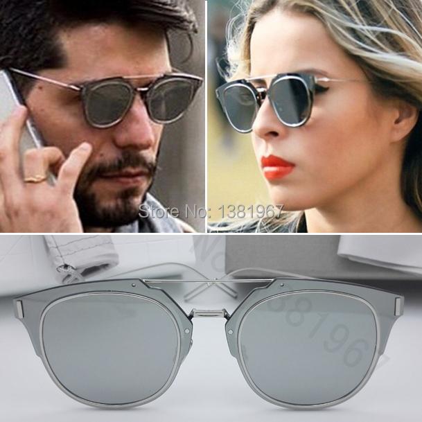 Мужские солнцезащитные очки Fashion Retro Sunglasses 2015 1.0 Oculos Composit 1.0