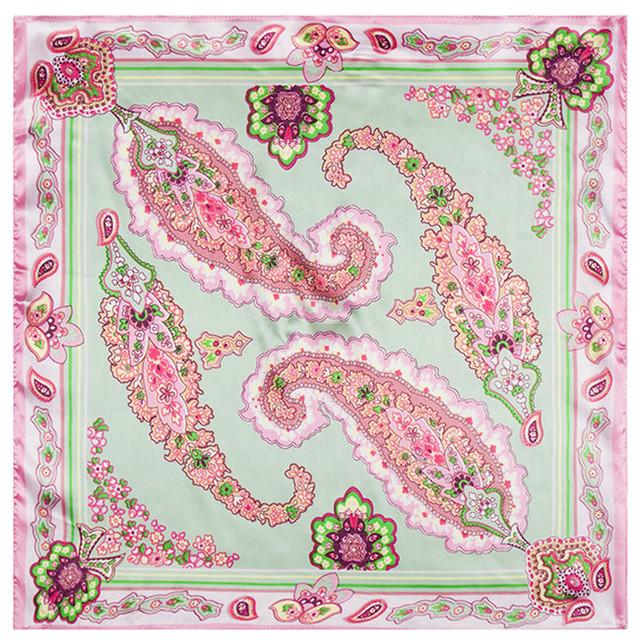 60 см * 60 см новый большой цветок сторона кешью фамилия женщины чешского стиль небольшой площади шарф оптовая продажа
