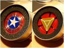 Buy DHL 100pcs/lot Hand Spinner Batman Captain America Iron Man Fidget Spinner Metal Tri-Spinner Anti Stress Fingertips Toys Batman for $268.00 in AliExpress store