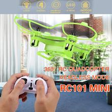 RC101 2.4G Mini RC Quad copter With Six-axis Gyro rc remote control quadcopter helicopter drone VS X5C cx-10 cx-20 x400 x800