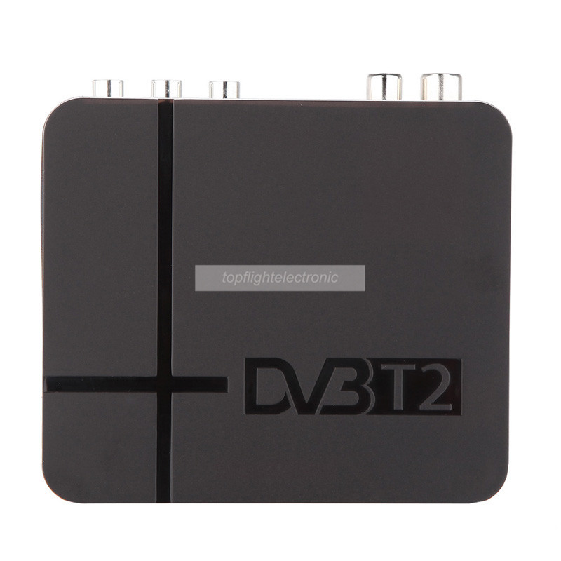 Mini TV box DVB T2 Terrestrial Receiver DVB-T2 MPEG-2/-4 H.264 Support USB/HDMI Set Top Box For RUSSIA/Europe/THAILAND/Columbia(China (Mainland))