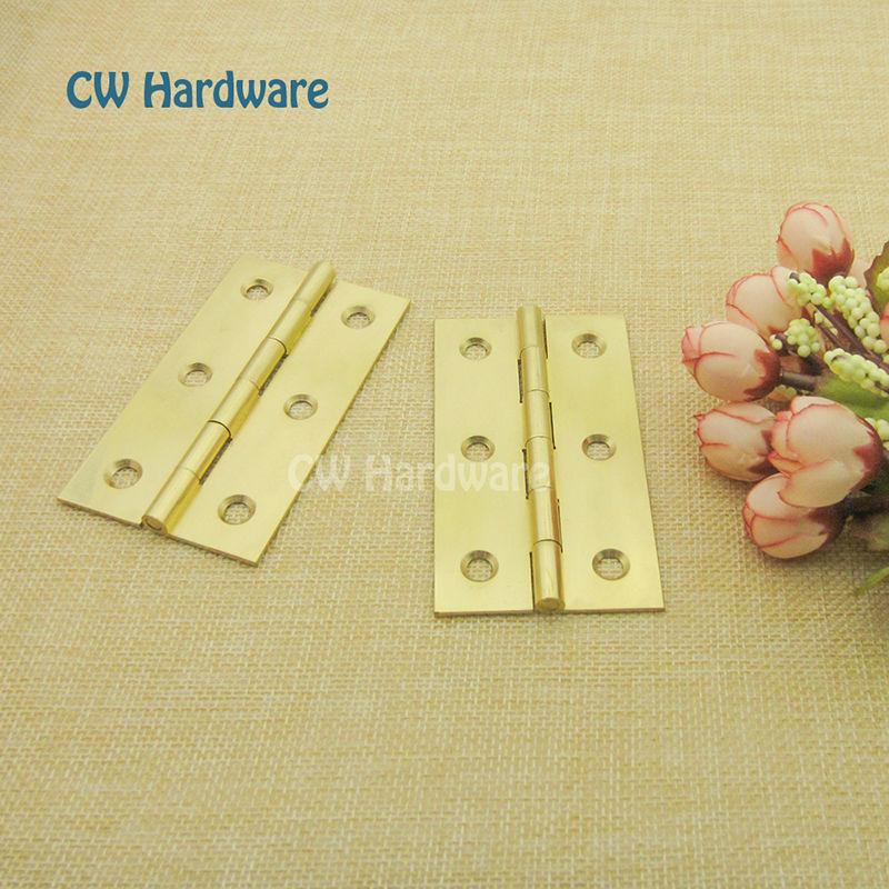 10pcs CW Hardware DecFab 4 inch 100mm Australia Chinese Furniture Door Hinges Brass Big Door Butt Hinge(China (Mainland))