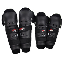 4 pieces/ set Hot Sale Outdoor Motorcycle Protective kneepad Motocross Protector Racing Knee Elbow Gear adjustable EVA Cushion
