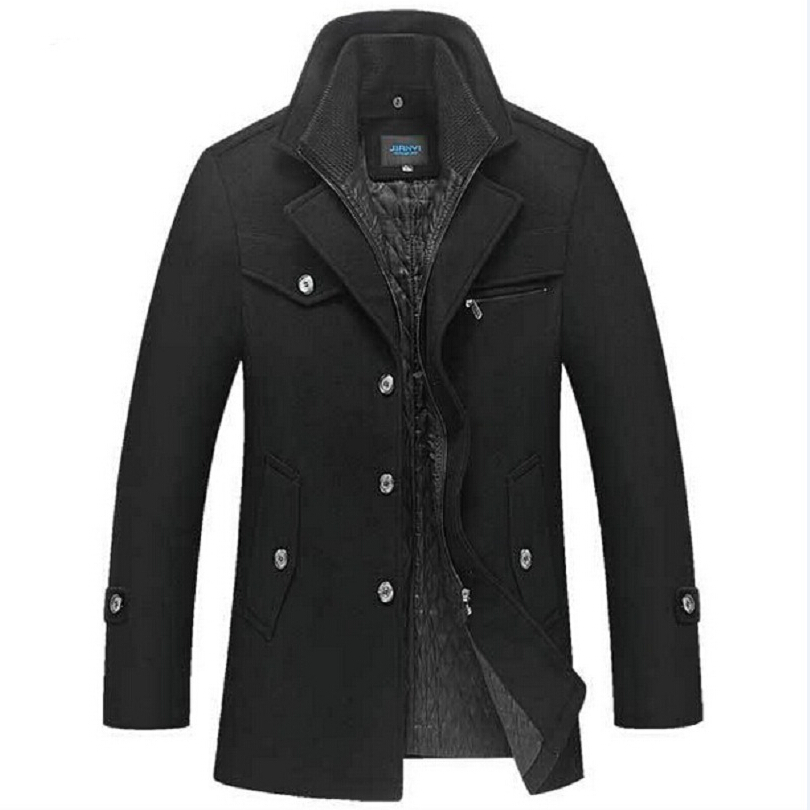Online Get Cheap Slim Fit Pea Coat Men -Aliexpress.com | Alibaba Group
