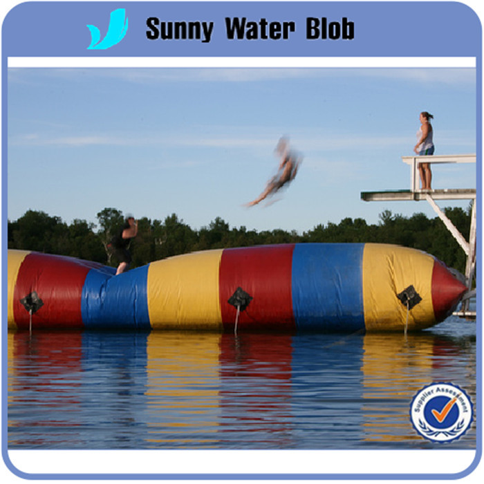 Fast Delivery Free Shipping, 6x2m Selling Inflatable Blob, Inflatable Water Blob,Inflatable Water Blob Jump(China (Mainland))
