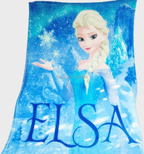 Retail 2015 New Baby Girls Blanket/Children Sleeping Quilt/Travel Blanket Plaid Rug Cover/Snow Queen Elsa Fleece Blanket(China (Mainland))