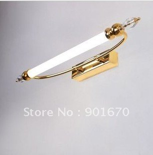 modern 12W L58cm gold color front mirrow wall lamp sconce bathroom lighting residential hotel - Goddesslighting Factory's store