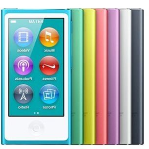 New For Apple iPod nano7 7th Generation 2.4'' IPS touch screen new 16GB MUSIC FM VIDEO MP3/5 PLAYER A variety of language(China (Mainland))