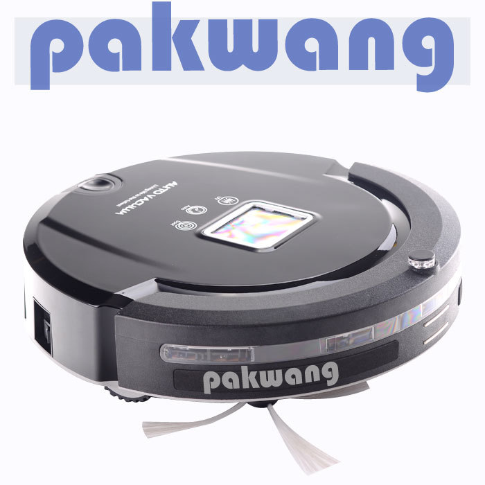 OEM Intelligent robot vacuum cleaner A320 with automatic charge and LED display,wet and dry vacuum cleaner(China (Mainland))