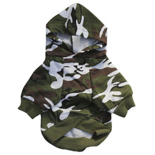 Buy Pet Dog Clothes Small Dogs Camouflage Hooded Sweatshirt Dog Coat Jacket Costume Puppy Chihuahua Hoodie Clothing Apparel for $2.14 in AliExpress store