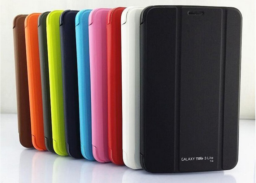 High quality original case for samsung galaxy tab 3 lite 7.0 V  T116 7 tablet cover for samsung tab 3 v7.0 A variety of colors<br><br>Aliexpress