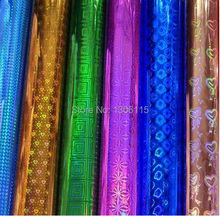 50*70cm Free Shipping Hot Sale  holographic paper high quality holographic film(China (Mainland))
