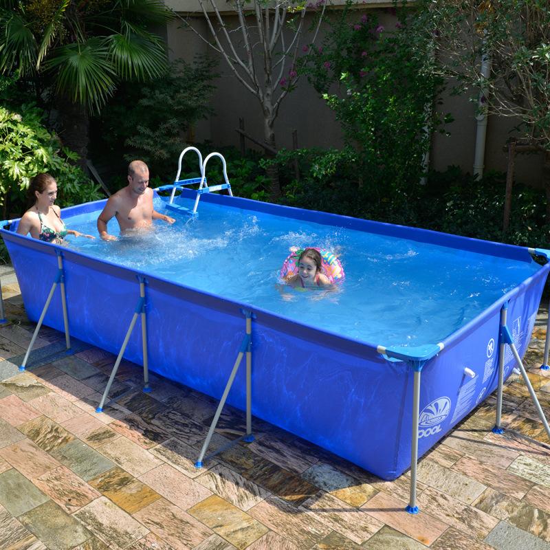 Online kopen wholesale plastic zwembaden te koop uit china for Zwembad plastic
