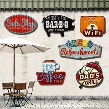 Special shade Vintage Tin Sign plaque Bar pub home House Cafe Restaurant Wall Decor Retro Metal Art sticker Poster(China (Mainland))