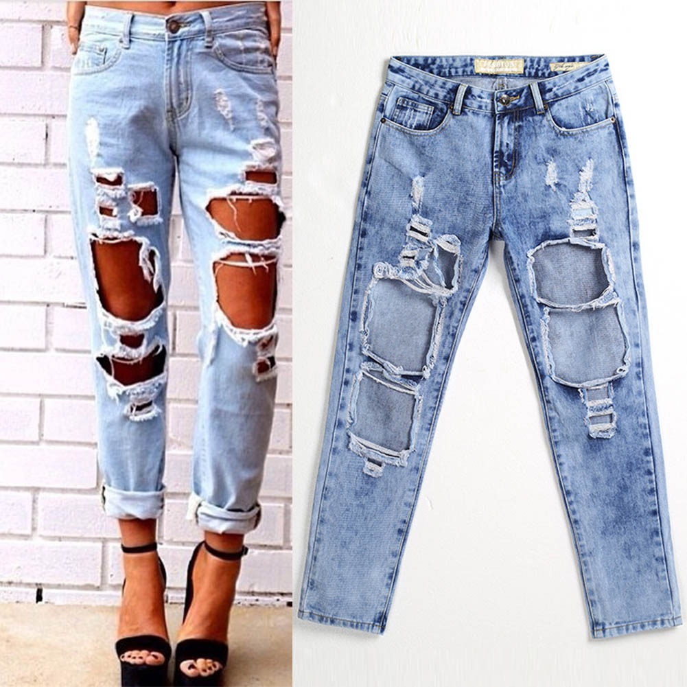 Jeans with Holes Promotion-Shop for Promotional Jeans with Holes ...