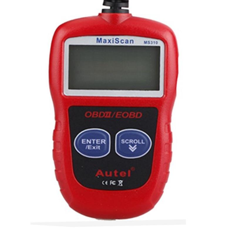 MS310 OBDII/EOBD Code Reader Car Engine Diagnosis(China (Mainland))