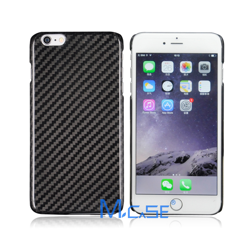 Mcase 0.7mm Ultra Thin 100% Real Carbon Fiber Case iPhone 6 (free clear case free tempered glass screen protector ) - MCASE store