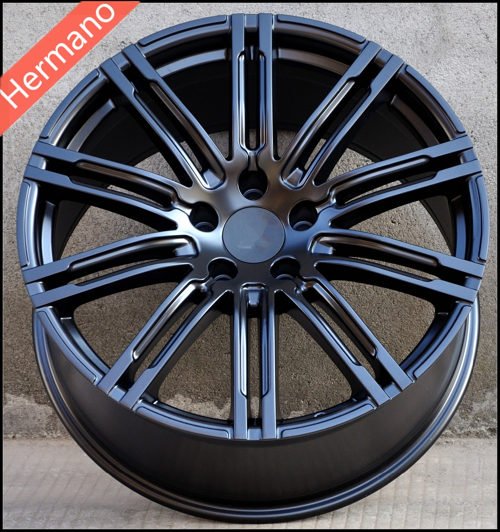 50 Inch Rims : Matt black inch pcd offset bore car