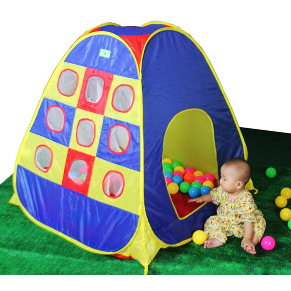 cm grande del juego del beb carpa carpa juego de aventura interior exterior jardn gran casa de juegos para nios