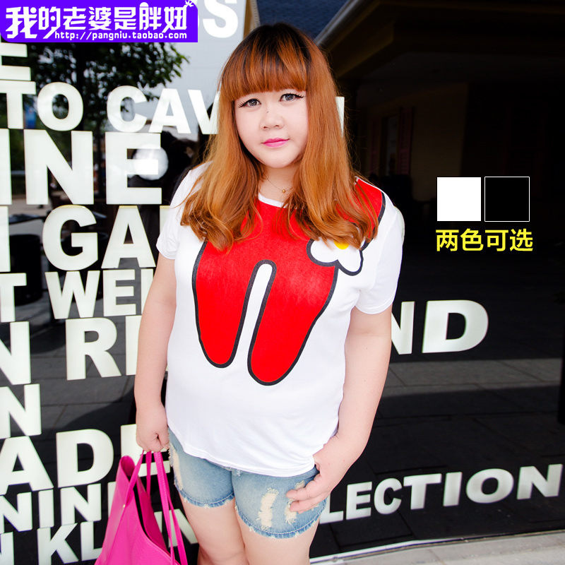 My wife is a new cartoon summer was loose and comfortable big fat mm code e0194(China (Mainland))