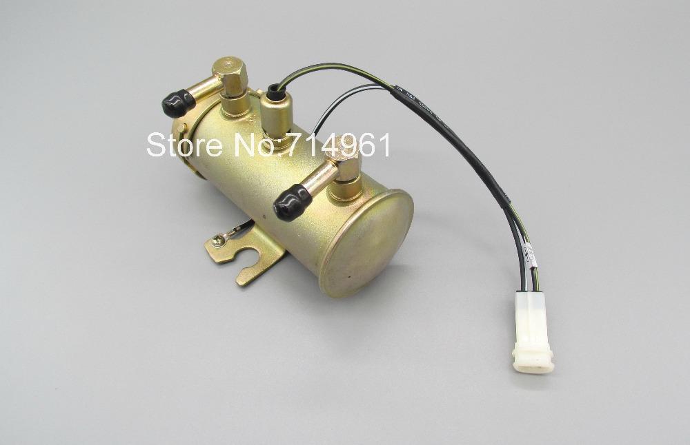 8980093971 24V Electric fuel pump case for Hitachi excavator 4HK1,6HK1 engine ZX200-3,210-3,240-3,250-3,330-3(China (Mainland))