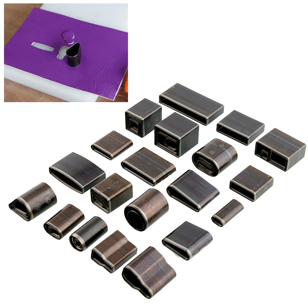 2015 Hot New Useful Practical Handmade 39 Shape Style Leather Craft Hole Hollow Punch Cutter Set Tool(China (Mainland))
