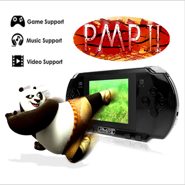 3.0 inch PMP Handheld Game Console 32 Bit Portable Video Game Player LCD Screen with in-built 10000 Free Games Supports Download(China (Mainland))