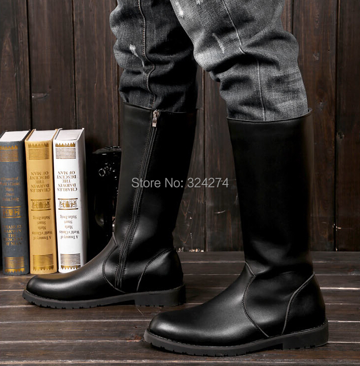 Mens Tall Boots - Yu Boots