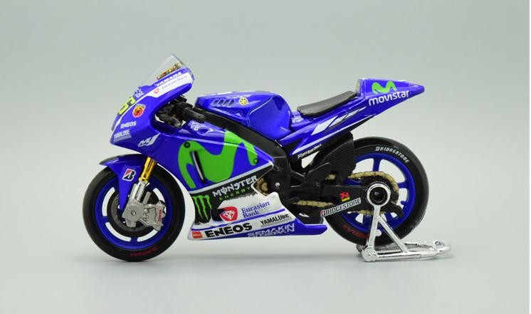 1:18 Alloy motorcycle models ,high simulation metal casting motorcycle toys,Yamaha YZR-M1,free shipping