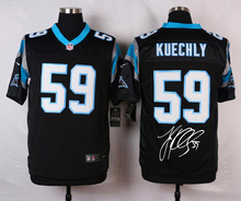 A+++ all stitched ,Carolina panthers signature #59 Luke Kuechly(China (Mainland))
