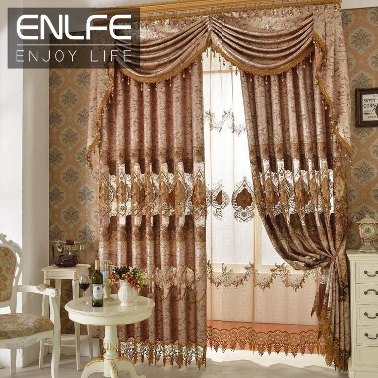 style curtain set blackout curtain organza curtains for living room