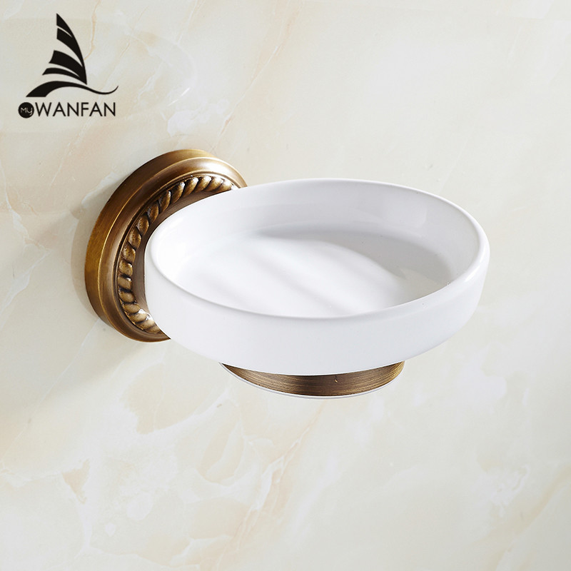Free shipping New Golden finish brass Soap basket /soap dish/soap holder /bathroom accessories,bathroom furniture HJ-1305(China (Mainland))
