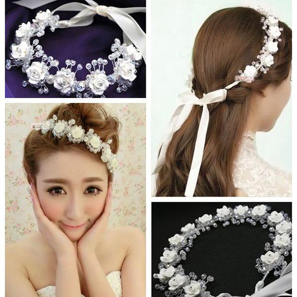 Fashion Elegant Fashion Crystal Rhinestone Wedding frontlet Bridal Hair Accesory Good Quality ASAF(China (Mainland))