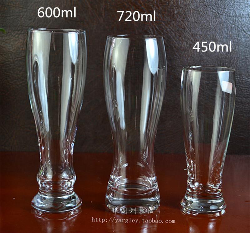 720ml Big Capicity Bar Beer Glass Cup Juice glass Cups KTV Bar Restaurant glassware 600ml,450ml(China (Mainland))