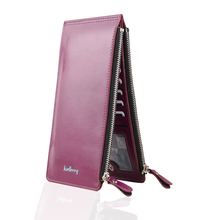 Buy Women Wallets Fashion Purse Women Large Capacity Double Zippers leather wallet Brand Long Wallet Clutch Casual Lady Cash Purse for $7.99 in AliExpress store