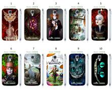 Buy Mobile Phone Cases Wholesale 10pcs/lot Alice Wonderland Protective White Hard Case Cover Samsung galaxy s4 Cases for $14.40 in AliExpress store