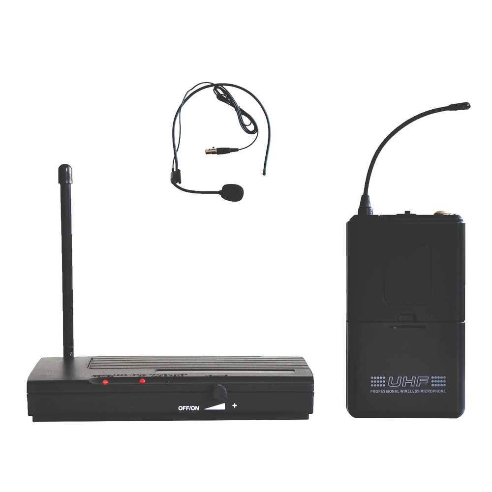Freeboss U-8017 Long Range Headset Mic FM Transmitter UHF Karaoke Wireless Microphone System Consumer Electronics(China (Mainland))