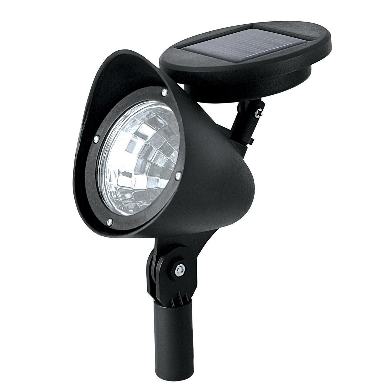 THGS Outdoor Solar Powered LED Spotlight Garden Pool Waterproof Spot Light Lamp(China (Mainland))